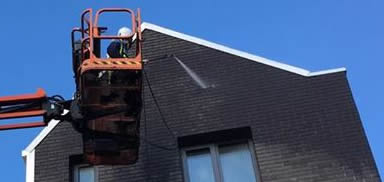 high pressure brick cleaning Bolton
